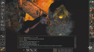 Baldur's Gate: Siege of Dragonspear gameplay