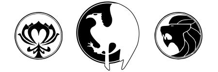 Brigada Ligeira Estelar - Brasão da monarquia Imperial, de Viskey e de Albuquerque