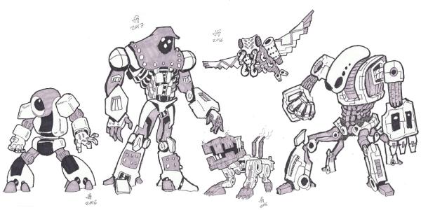 Inkrobots