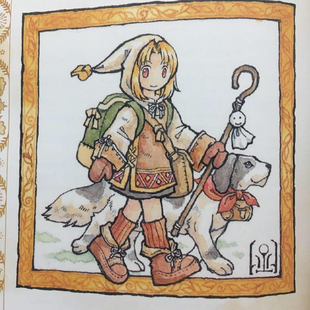 Ilustração de Ryuutama