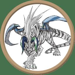 Token - Tigre Demônio das Neves