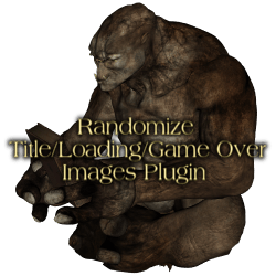 Randomize Title/Loading/Game Over Images