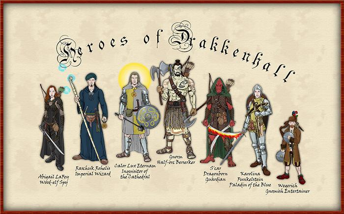 Heroes Of Drakkenhall