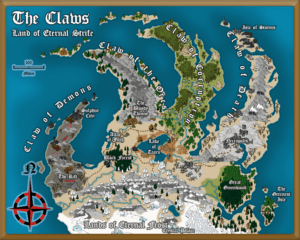 The Claws example map