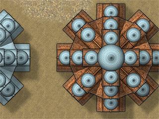 CA144A City Domes