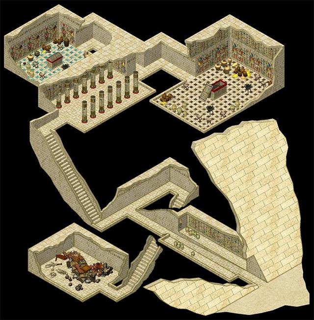 Pyramid Interior by JdR