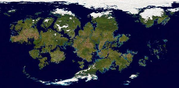 World Map by Thiatas Ashadarawesh