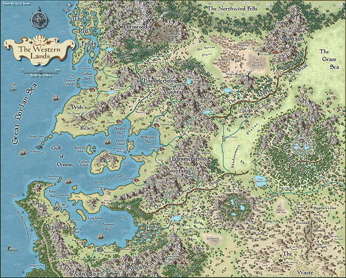 Lou Larsen - The Western Lands