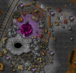 Mine Level 6 AOI 11 Battlemap