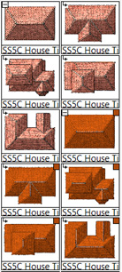 There are a few different building shapes to choose from in SS5.