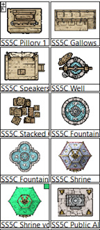SS5 has a few other useful city structures included