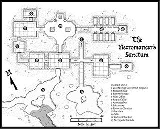 CA160 Necromancers Sanctum Small