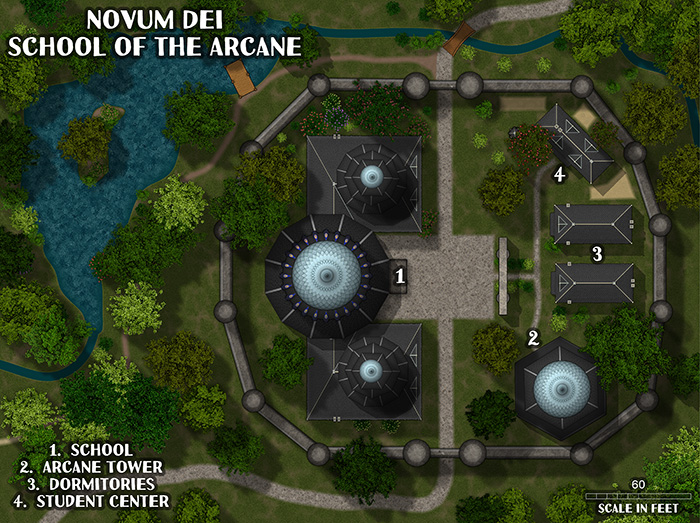 ProFantasy 2018 City Domes Bonus Map