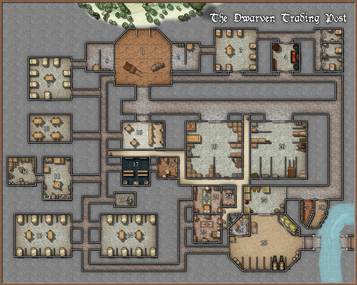 Dwarven Trading Post