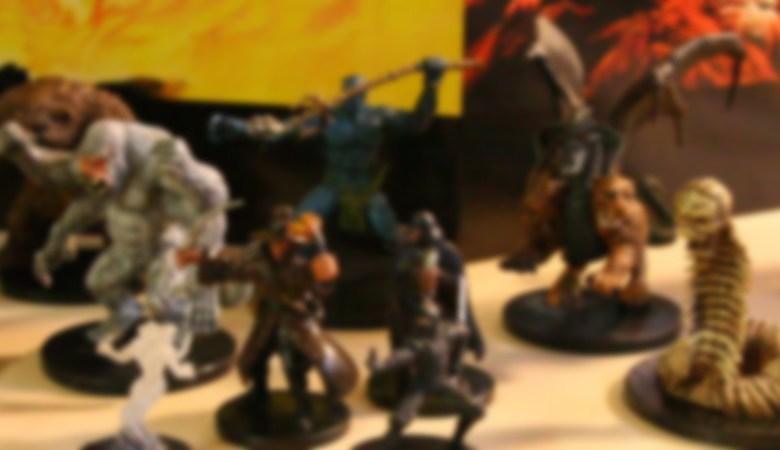 miniaturas de RPG