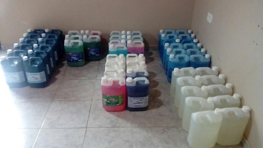 produtos de limpeza gnb 6