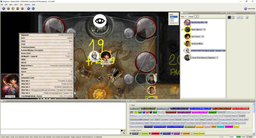 Imagem do Maptool - Papo com GORATH