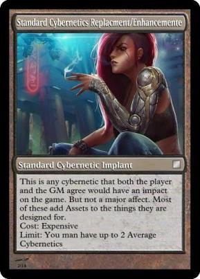 Standard Cybernetics ReplacmentEnhancemente