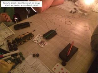 11 Taktische Gefechte beim Stammtisch mit Savage Worlds Necropolis