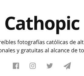 Cathopic, el banco gratuito de imágenes…religiosas