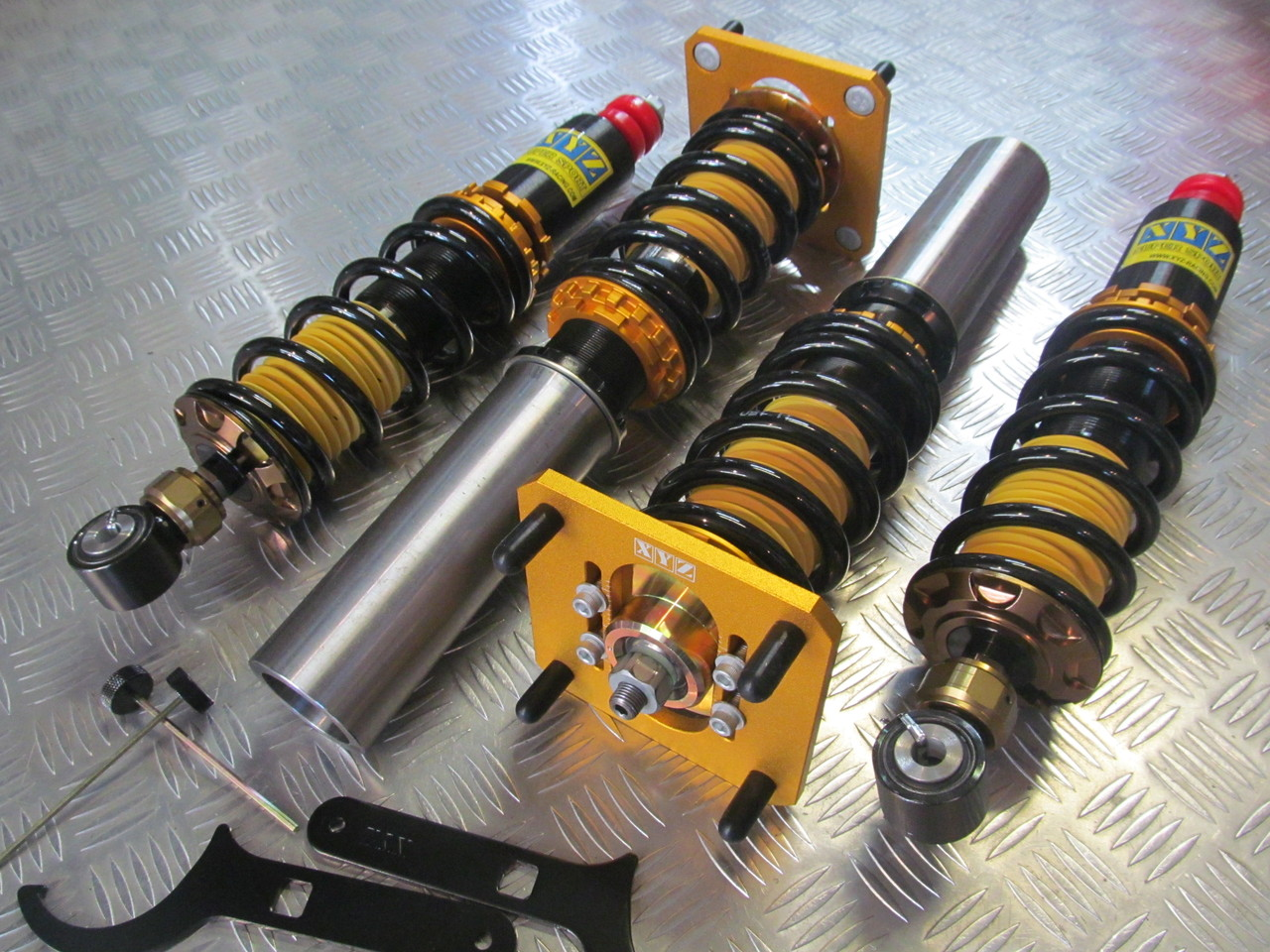 Adjustable coilovers