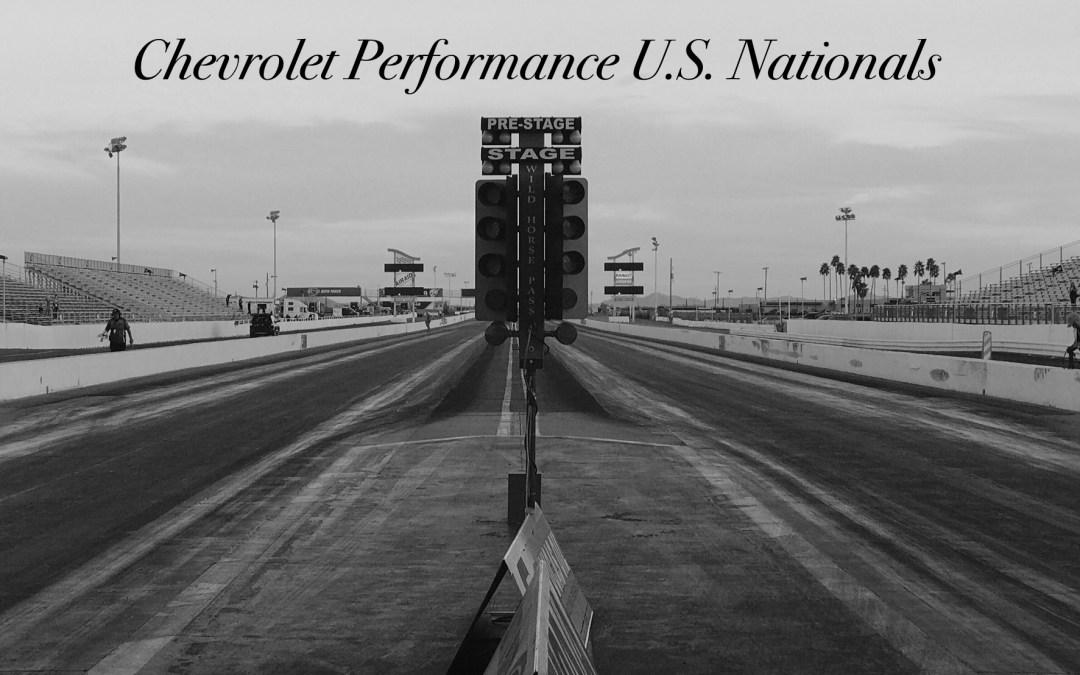 Chevrolet Performance U.S. Nationals Q1