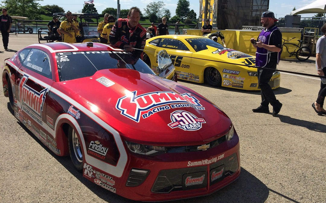 Anderson, Coughlin top Pro Stock charts