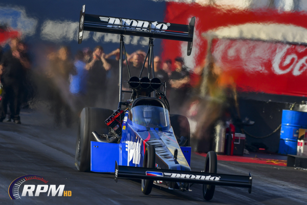 Alexander gets his first Top Fuel win