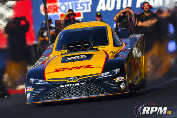 US Nationals: Todd still leads Funny Car quals