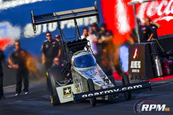 Schumacher tops Top Fuel qualifiers at Virginia