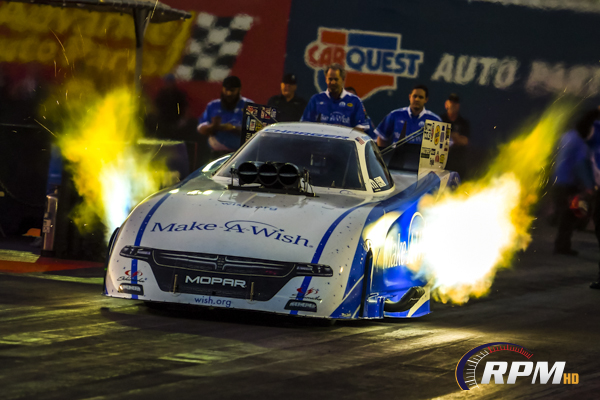 NHRA: Johnson fastest in Funny Car