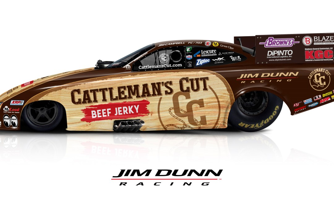 Cattleman's Cut wrap to be on Jim Dunn Racing's FC in 2019