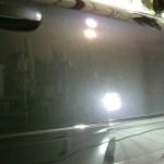 アウディA4 ガラスコーティング 磨き
