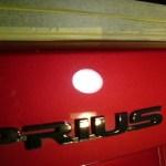 プリウス 30系 赤 ガラスコーティング 磨き (愛知県・岐阜県・三重県・名古屋)
