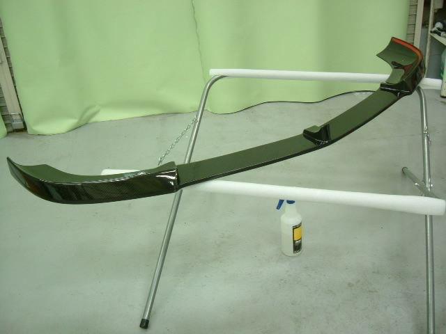 AMG E63 Vorsteiner製カーボンフロントスポイラーにプロテクションフィルム施工!! (愛知県・岐阜県・名古屋)