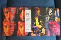 Inside gatefold cover and Japanese-style OBI strip to 'Ziggy Stardust', Rykodisc, 1990