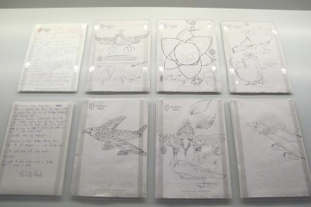 '75 Tour Of The Americas jet-eagle brainstorms from Mick and Charlie