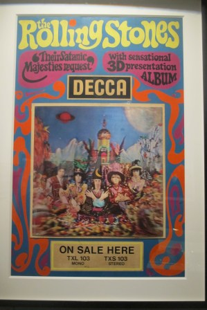 """1967 psychedelic ad for """"Their Satanic Majesties Request"""""""