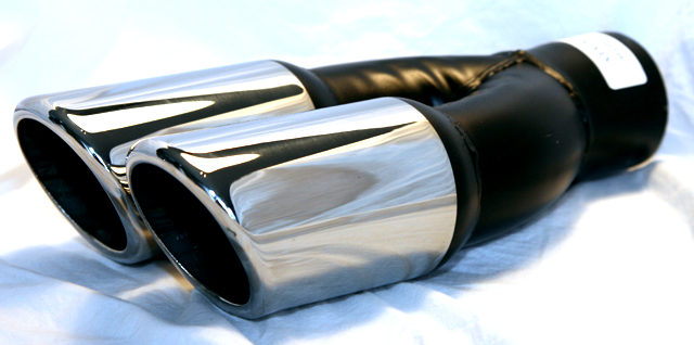 motors car truck exhaust pipes tips slp performance 2 5 in exhaust tip polished 3 5 single wall out 310305302hp