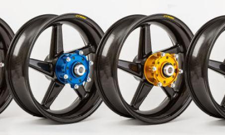 velg carbon fiber di motor
