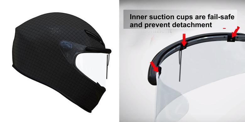Wiper Kaca Helm