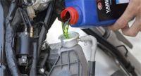 Pakai Air Radiator Mobil di Motor