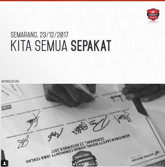 Pesta Akhir Tahun Honda Community di Semarang 1