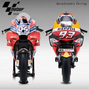 Foto Motor MotoGP Tebaru untuk Musim 2018 2