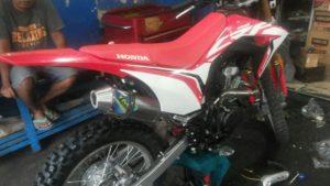 Knalpot Racing Honda CRF150L