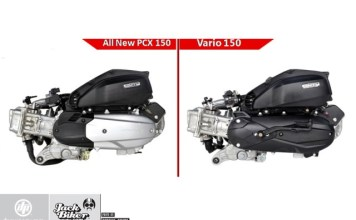 Perbedaan Mesin PCX dan Vario 150