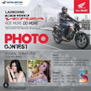Foto Kontes Honda CB150 Verza di Semarang