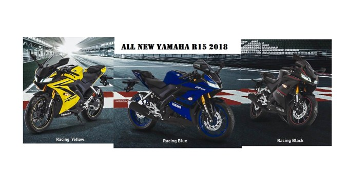 Warna Baru Yamaha All New R15 2018