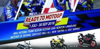 Beli Motor Suzuki Berhadiah Nonton MotoGP