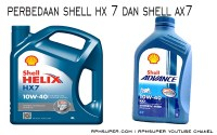Perbedaan Shell HX7 dan AX7